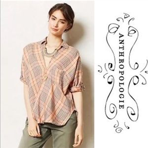 Anthropologie Holding horses Sz 2 Top Blouse